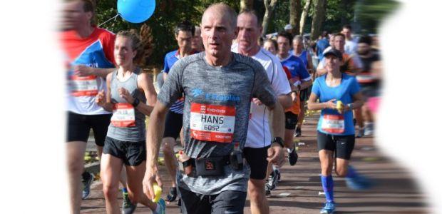 Hans voor Etteplan rent de halve marathon